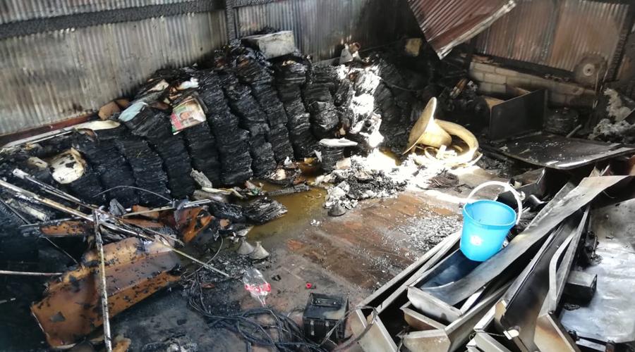 Se incendia bodega en Sola de Vega   El Imparcial de Oaxaca