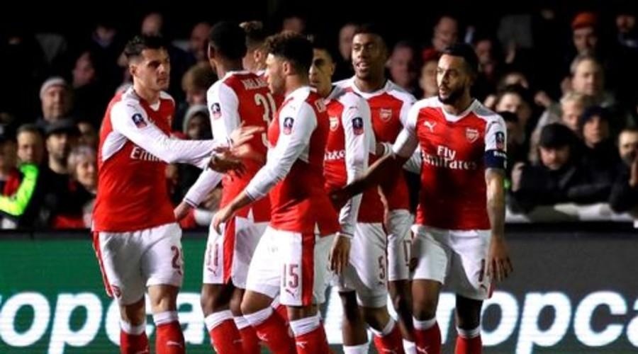 Arsenal cumple y avanza a 'cuartos' de la FA Cup | El Imparcial de Oaxaca