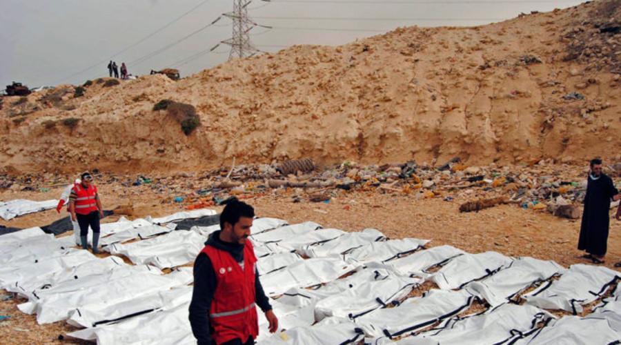 Hallan 74 cadáveres de migrantes en una playa de Libia | El Imparcial de Oaxaca
