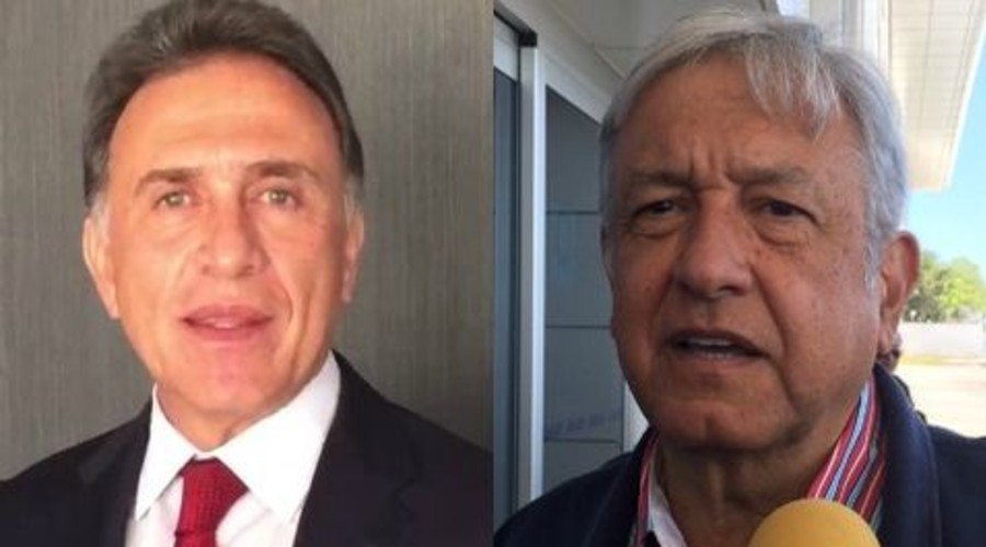 AMLO llama corrupto a Yunes; el gobernador lo llama autoritario | El Imparcial de Oaxaca