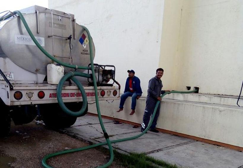 Suministran agua a hospitales  ante contingencia en Salina Cruz | El Imparcial de Oaxaca