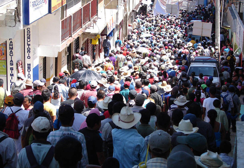 Marchas en Tuxtepec, cómo método para que el gobierno los atienda | El Imparcial de Oaxaca