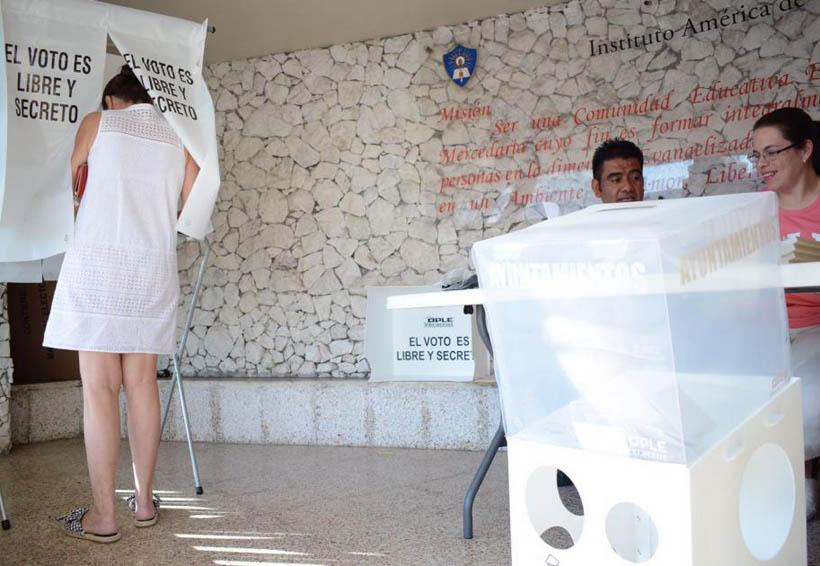Incidentes a horas de culminar las elecciones en la Cuenca
