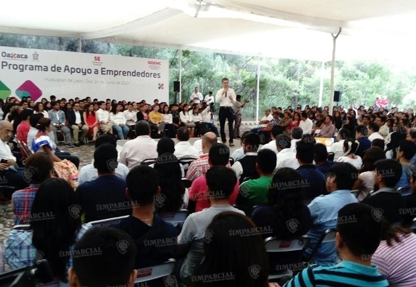 Se pone en marcha el programa de apoyo a jóvenes emprendedores en Oaxaca | El Imparcial de Oaxaca