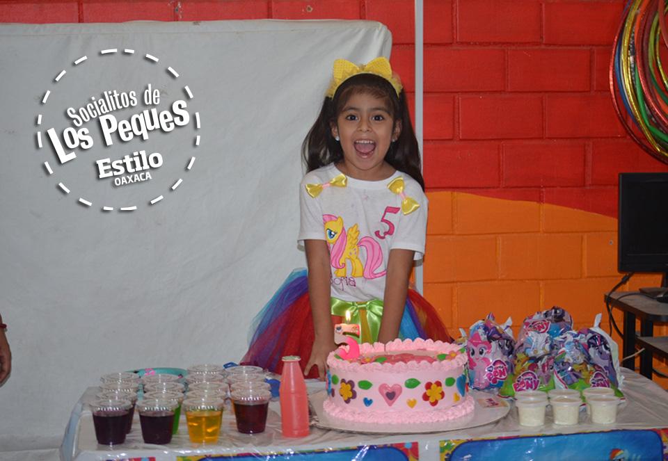 Sofía Nicole cumple 5 años