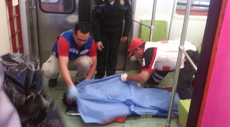 Muere de un golpe tras asomarse por la ventanilla del Metro de la CDMX