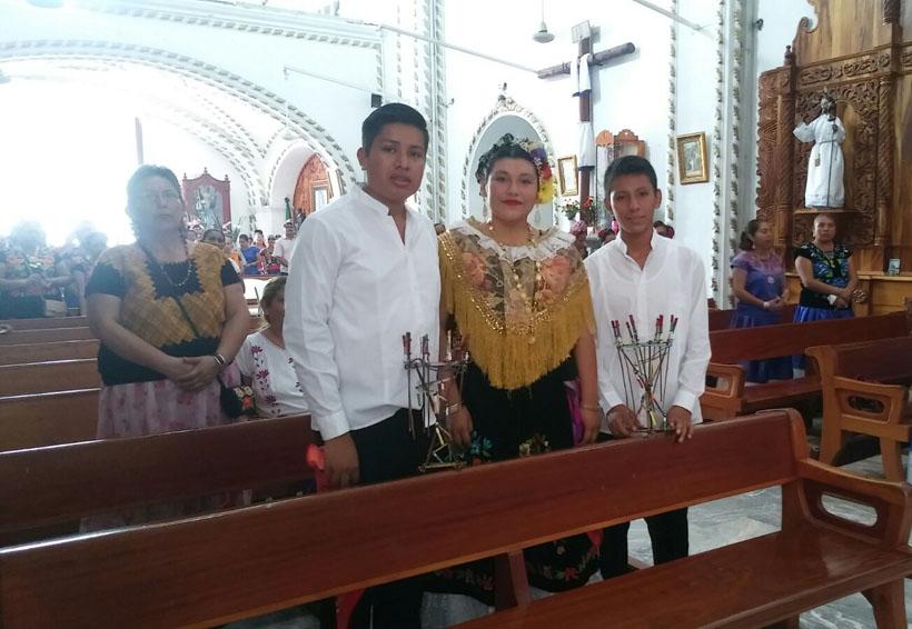 Pirotécnicos celebran Corpus Christi en Juchitán