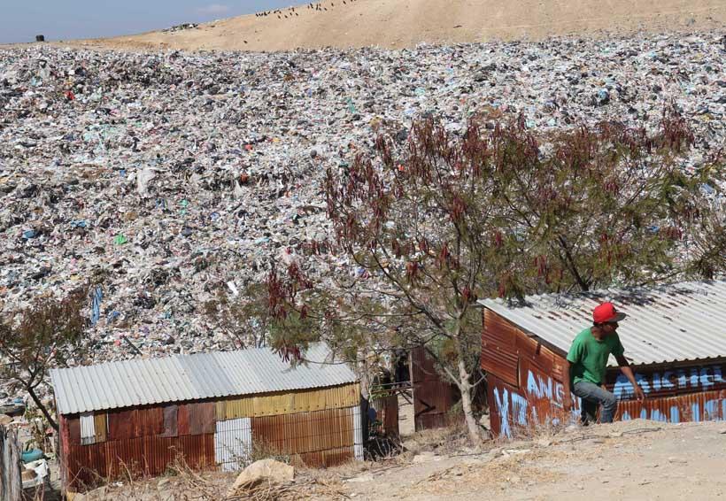 ¿Hay derechos humanos  viviendo en un basurero?