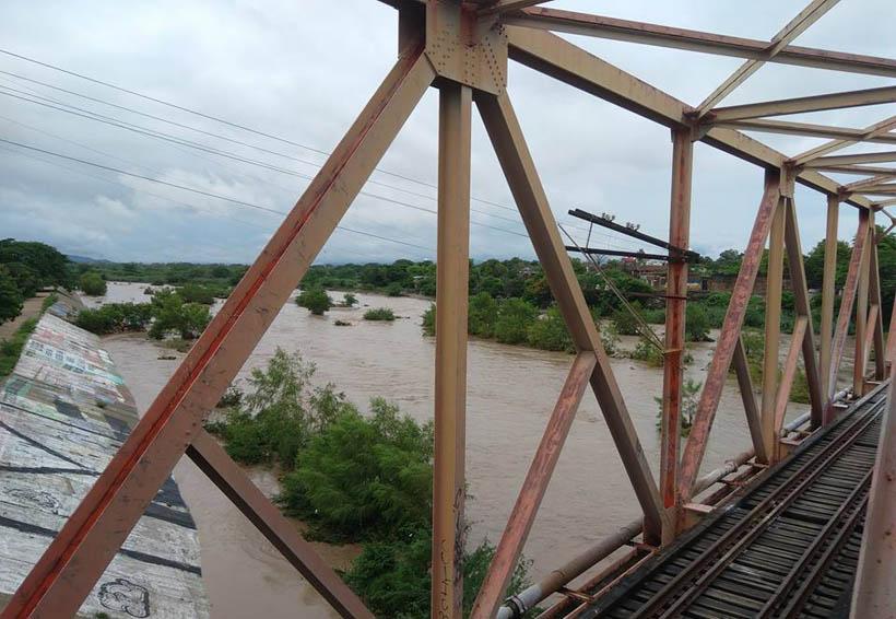 Conagua alerta por los niveles de ríos en el Istmo