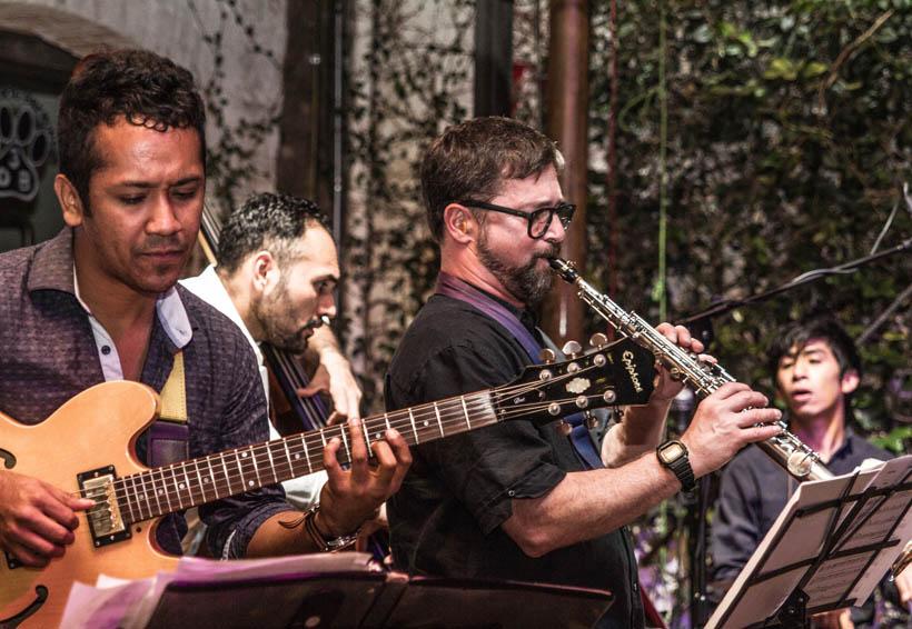 Jazz en Oaxaca con Abraham Díaz &Tétragon