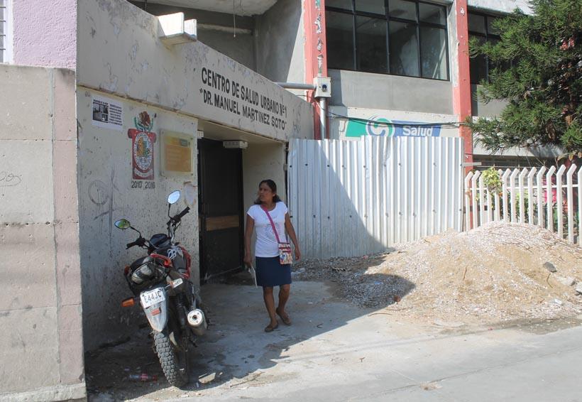 Centro de Salud Urbano No. 1, concluirá hasta el 2018