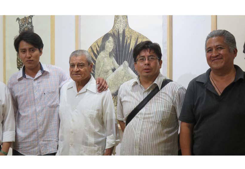 Exposición gráfica, jóvenes grabadores mixtecos