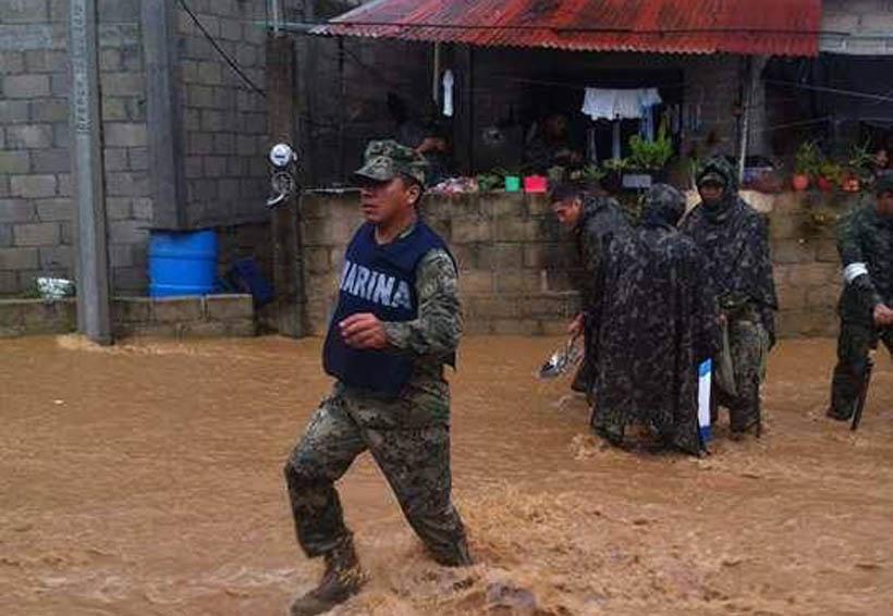 En Salina Cruz lluvias causan estragos en viviendas