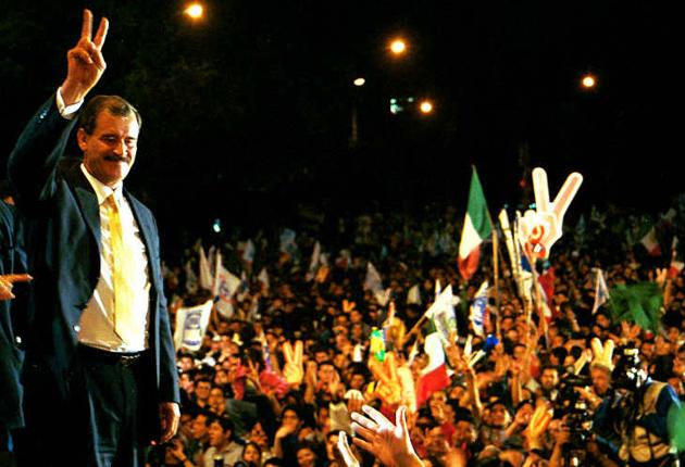 Anima Fox a Márquez a 'saltar el toro'