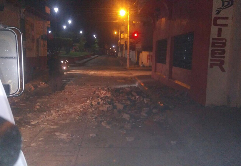 Sismo de 7.0 en Chiapas sólo dejó daños materiales | El Imparcial de Oaxaca