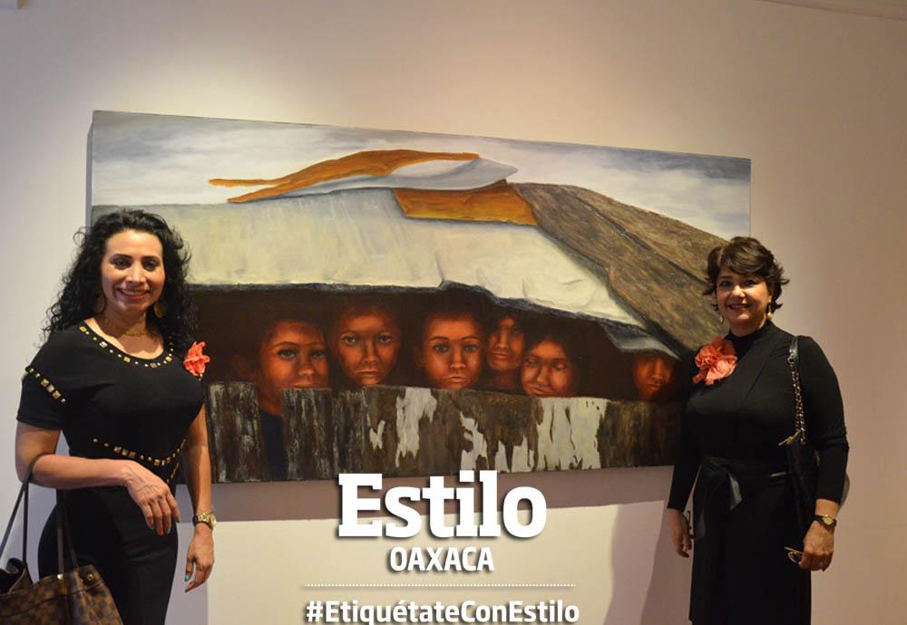 Jaya Chadin en la Casa de la Cultura Oaxaqueña