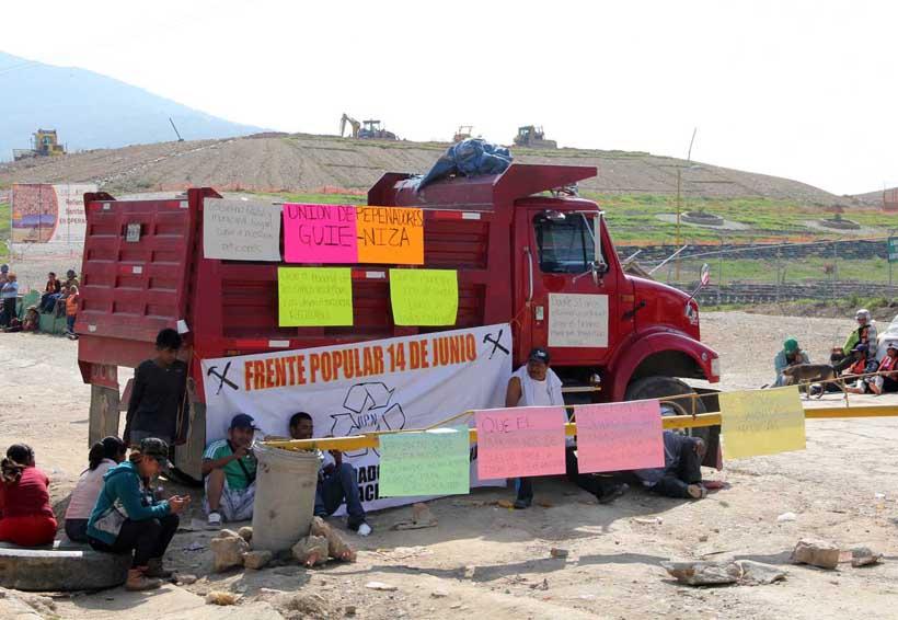 Vivir entre basura en Oaxaca