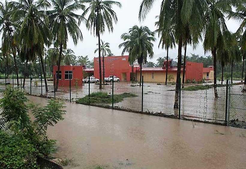 Hospital Comunitario de Río Grande bajo el agua