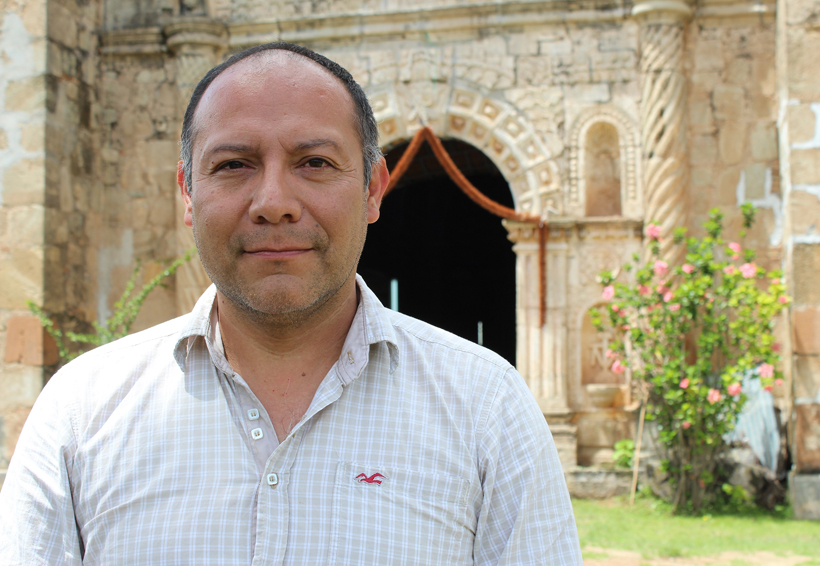Santiago Nejapilla atiende su patrimonio
