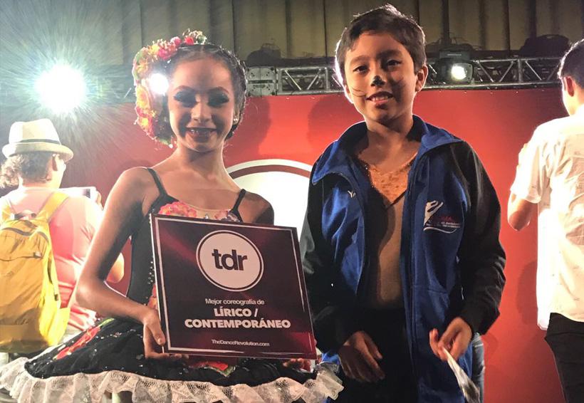Triunfa Oaxaca en competencia de danza