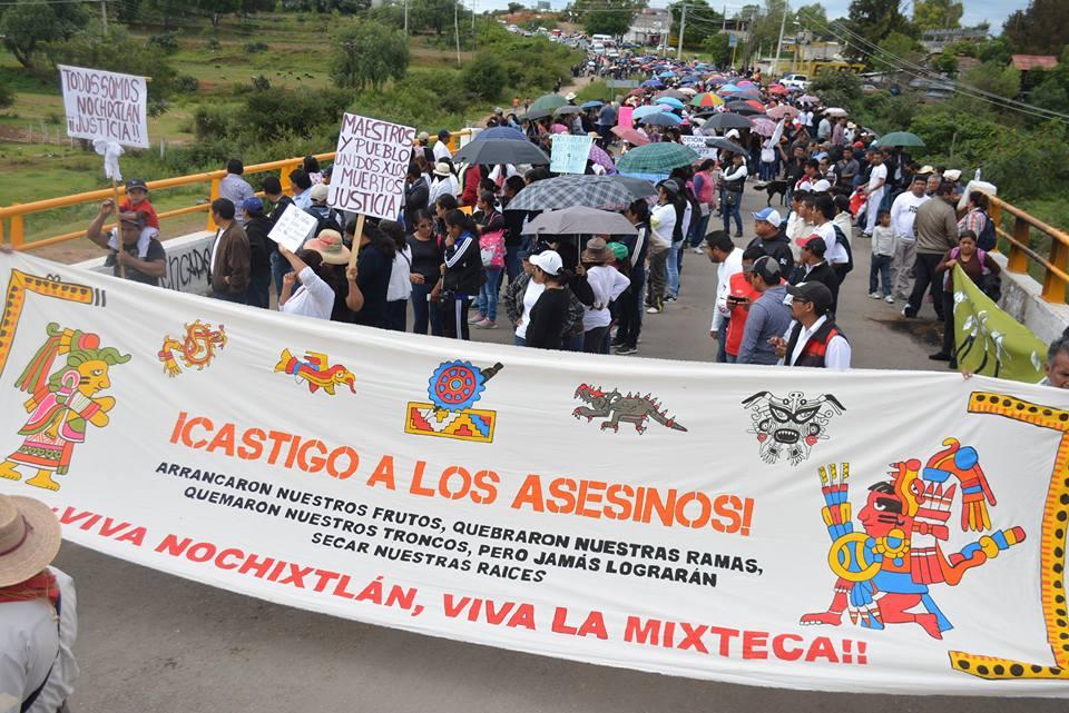 Siguen las agresiones contra las víctimas de Nochixtlán