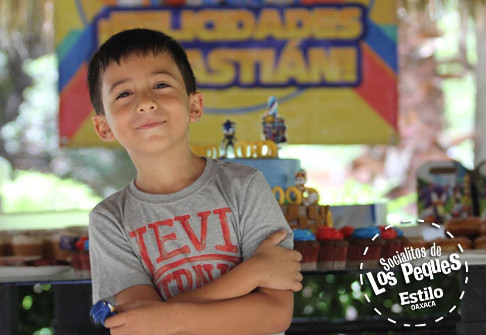 ¡Feliz cumpleaños Sebastián!