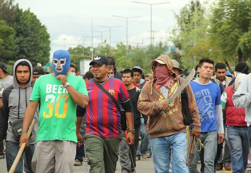 Autoridad de Zaachila exigen freno a la organización 14 de Junio