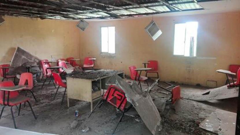 Aulas del Cobao de Juchitán afectadas por lluvias | El Imparcial de Oaxaca
