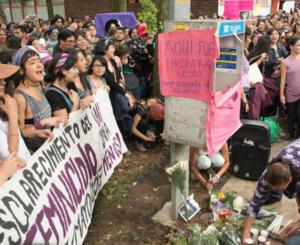Demanda UNAM que muerte de Lesvy sea indagada como feminicidio