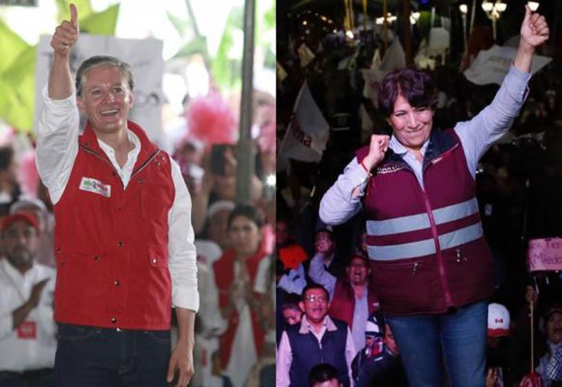 Delfina es la ganadora, no Del Mazo, afirma Morena