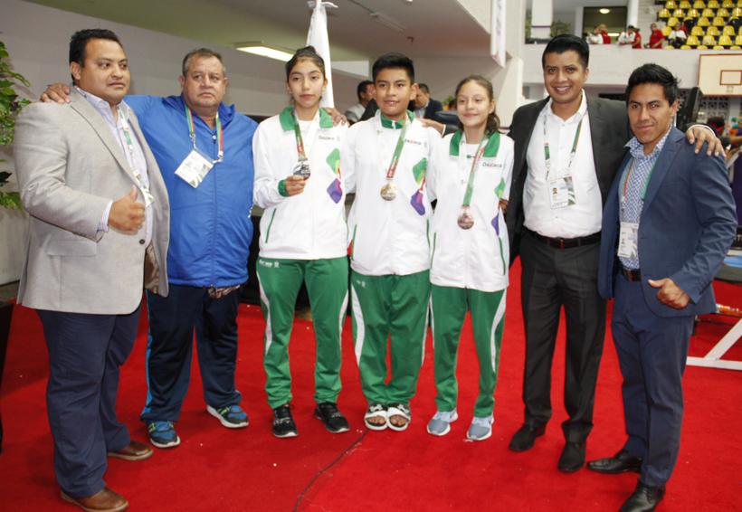Oaxaca se afianza en la Olimpiada Nacional 2017