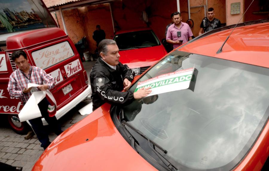 Profeco inspecciona lotes para evitar venta de autos robados | El Imparcial de Oaxaca