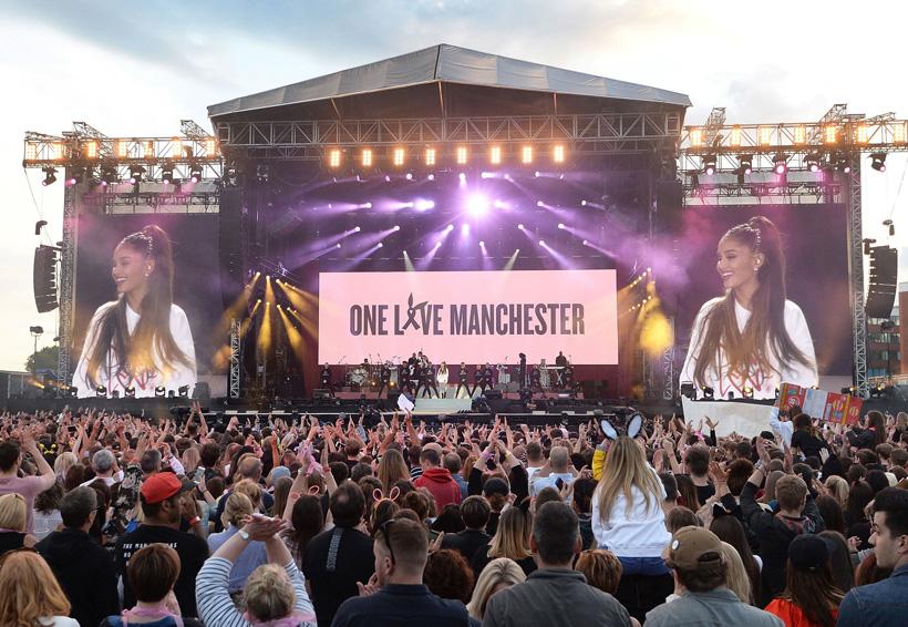 One Love Manchester; honran a las víctimas
