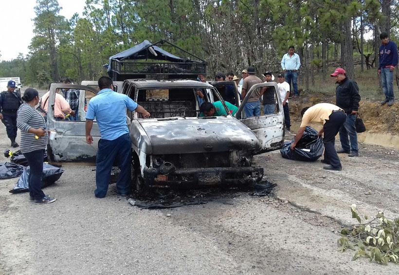 Emboscada en Mixtepec deja 5 mujeres muertas