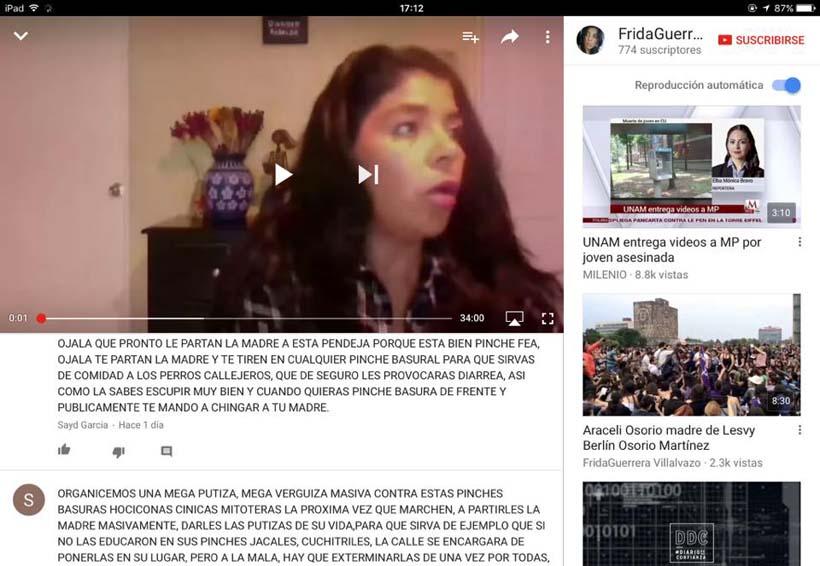 Mujer que defiende a mujer: Frida Guerrera