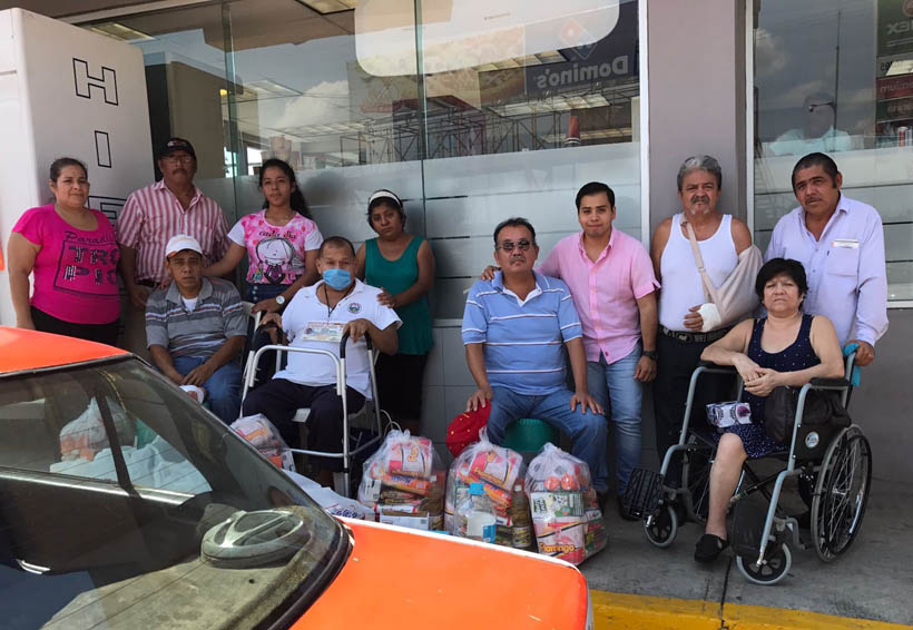 Taxistas de Tuxtepec realizan colectas  en apoyo a compañeros | El Imparcial de Oaxaca
