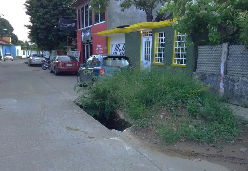 ¡Colapsa el drenaje en Tuxtepec!