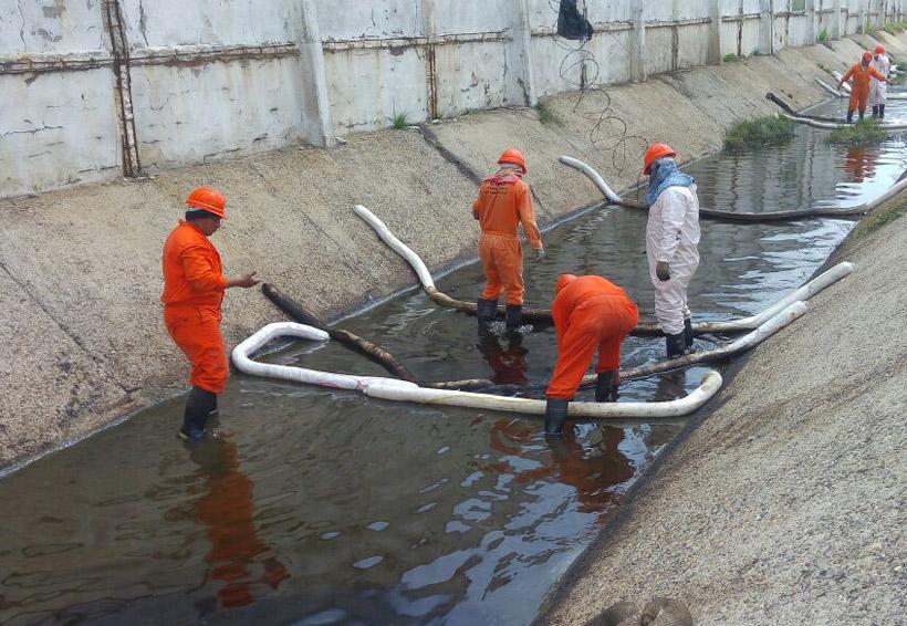 Pemex inicia limpieza en el Istmo