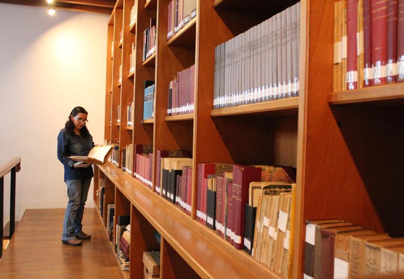 Una biblioteca especializada en filatelia