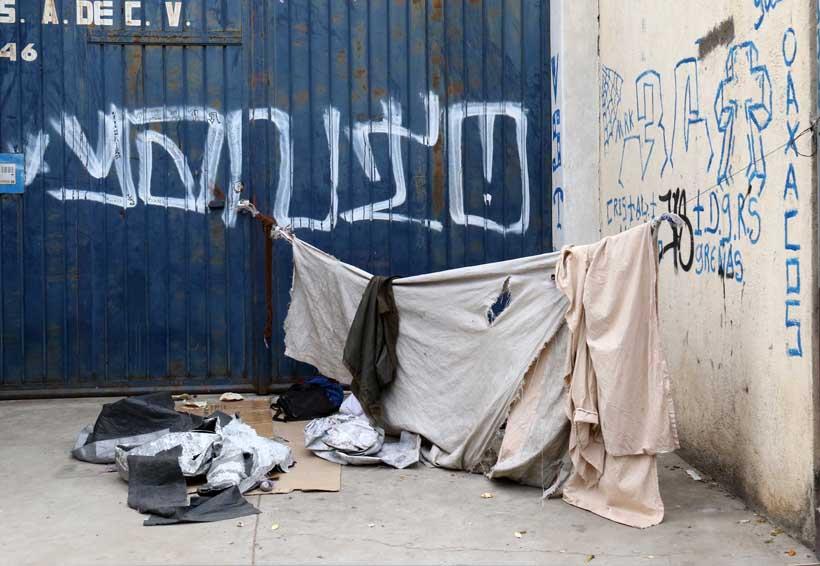 Elaboran proyecto para ubicar refugio de indigentes en Oaxaca