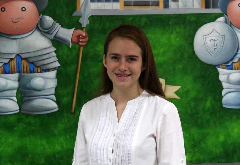 Georgina busca tu voto para  ser Premio de la Juventud | El Imparcial de Oaxaca