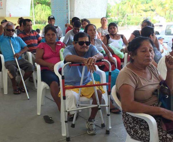 Credencialización para personas discapacitadas en la Cuenca