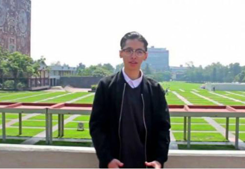 Rechaza beca, joven con examen perfecto en UNAM