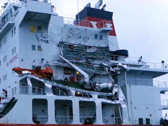 Saldo blanco por choque de dos barcos en el Canal de la Mancha | El Imparcial de Oaxaca
