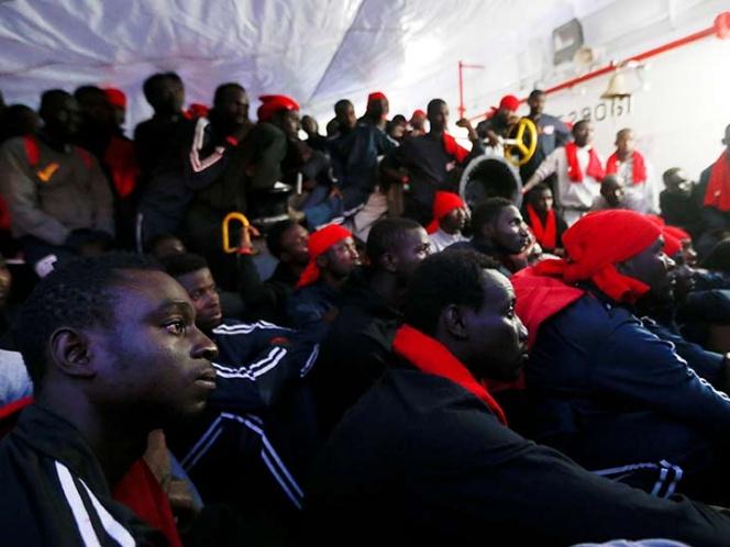 Más de 100 mil inmigrantes llegaron a Europa a través del Mediterráneo