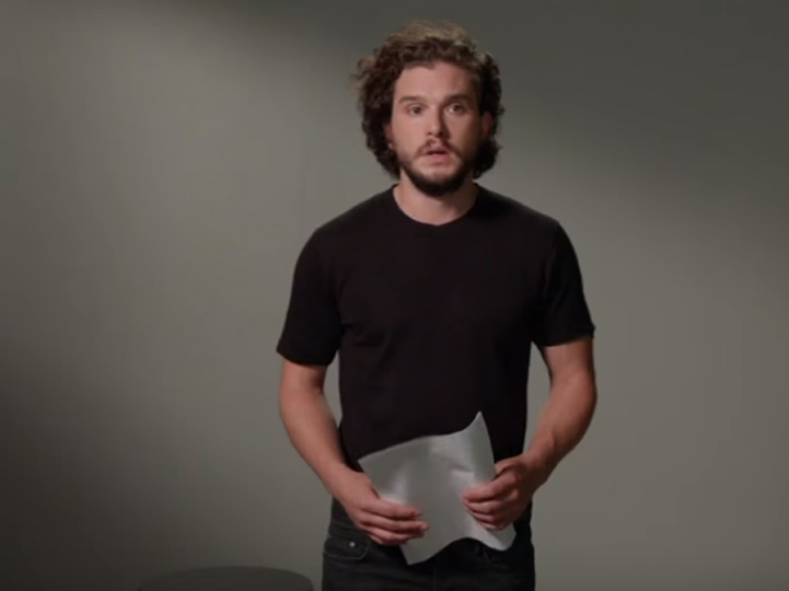 Kit Harington interpreta a otros personajes de Game of Thrones