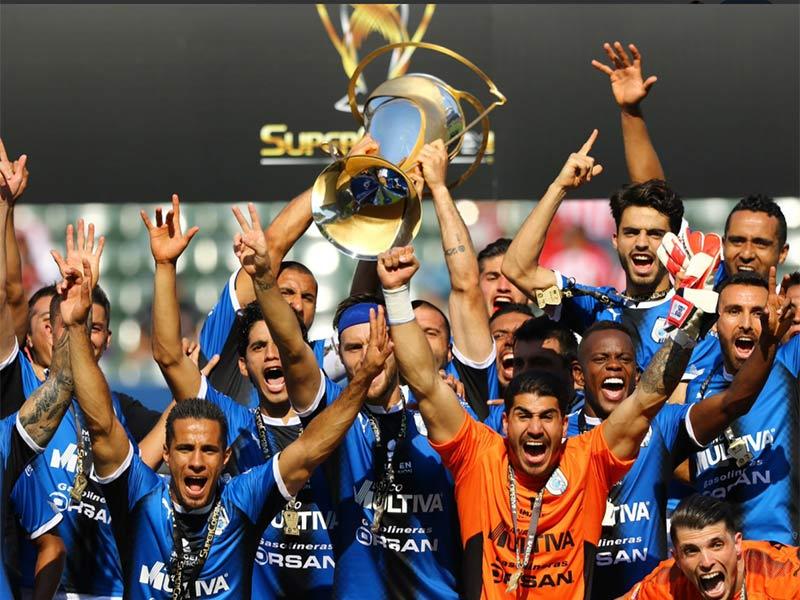 Gallos conquistan la SuperCopa MX
