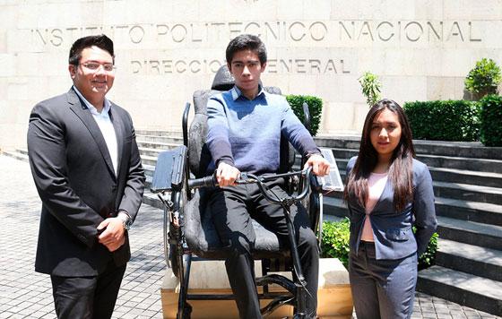Crean silla de ruedas solar | El Imparcial de Oaxaca