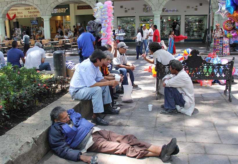 Personas en situación de calle generan mayor inseguridad en Oaxaca