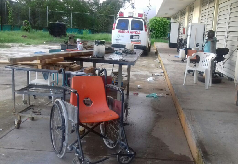 Sin condiciones para operar Hospital en Putla